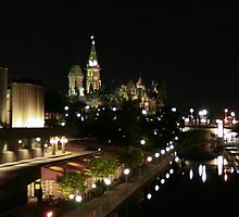 Rideau Canal Reflections with the Ottawa Skyline Part 2 by ktsPhotography