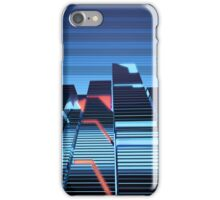 Cubes and Lines iPhone Case/Skin