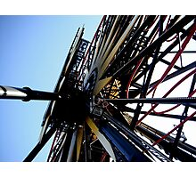 Disneyland Ferris Wheel Photographic Print