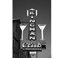 Route 66 - Kingman Club Photographic Print