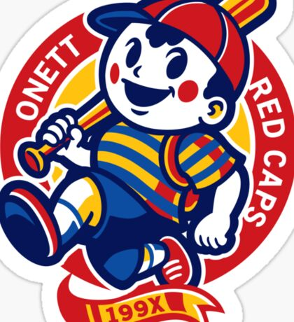 Onett Red Caps Sticker