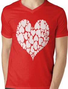 A Heart Full Of Love Red Valentine Hearts Within A Heart Mens V-Neck T-Shirt
