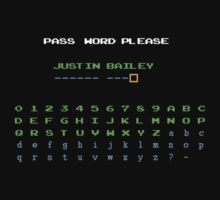 Justin Bailey Password Kids Tee