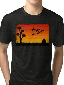 Duck Hunting Tri-blend T-Shirt