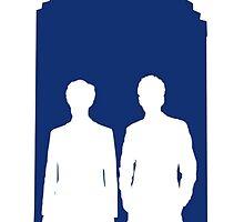 Two Doctors. One Tardis.  by TheFilmowski
