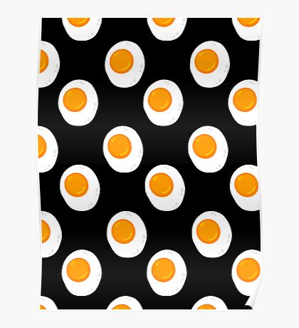 Fried Eggs Poster