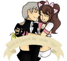 Persona 4 - We'll Dance All Over You Sticker