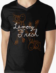 Lemony Fresh Mens V-Neck T-Shirt