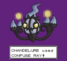 Chandelure used Confuse Ray! by redpawdesigns