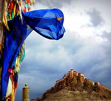 Tibetan Prayer Flags by danpanzarella