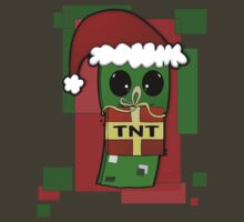 Minecraft Christmas Creeper  by Cyrup