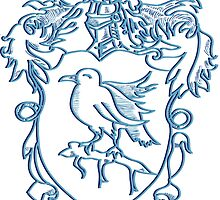 Ravenclaw Crest Type 2 by Chukii