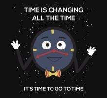 Time is changing all the time by Ashleigh Gurney