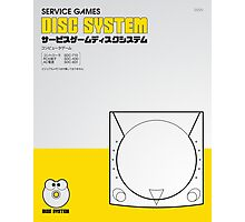 Service Games Disc System Photographic Print