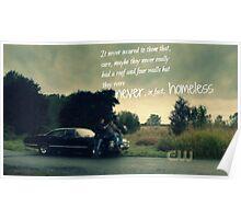 Never Homeless Poster