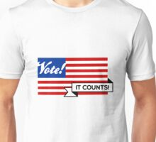 VOTE! Party-Neutral Participation Encouragement Unisex T-Shirt