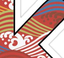 Letter Series - k II Sticker