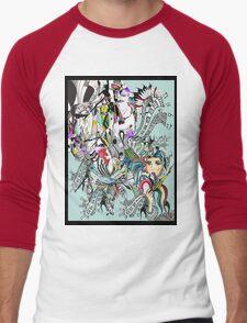 art of lust  Men's Baseball ¾ T-Shirt