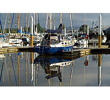 Masts in the morning: Launceston Photographic Print