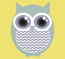 Owl-entine Card Kids Clothes