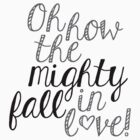 The Mighty Fall (Black) by Qistina Iskandar