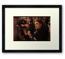 One Frame Away From A Smile Framed Print