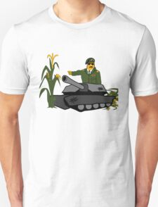 Corn Colonel - Corn Kernel - US Army Unisex T-Shirt