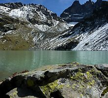 """Lac Blanc"" Belledonne moutains (French Alps) by Eric Tchijakoff"