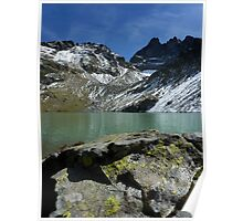 """Lac Blanc"" Belledonne moutains (French Alps) Poster"