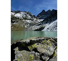 """""""Lac Blanc"""" Belledonne moutains (French Alps) Photographic Print"""