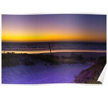 The Granites beach - North of Kingston South Australia Poster