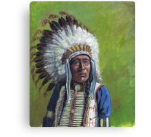 Chief Red Shirt  Canvas Print