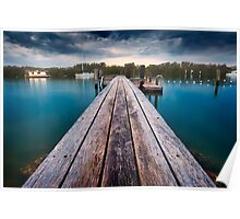 Lemon Tree Jetty Poster