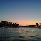 Sydney Harbour Pixels by Kitsmumma