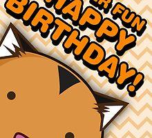 Fuzzballs Happy Birthday Tiger by rabbitbunnies