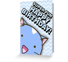 Fuzzballs Happy Birthday Cat Greeting Card