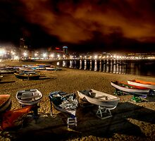 Las Canteras @ Night by Bård Ove Myhr