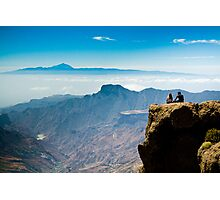 A panoramic view from Roque Nublo Photographic Print