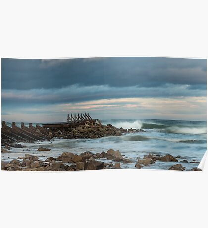 Lossiemouth East Beach Poster
