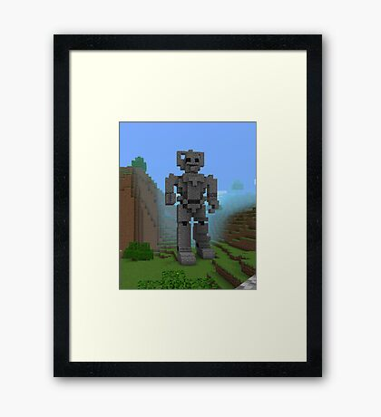 Doctor Who Cyber Framed Print