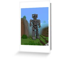 Doctor Who Cyber Greeting Card
