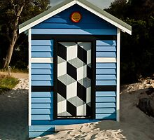 Beach Box or Tardis ? by DavidsArt