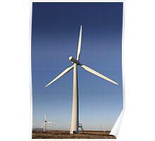 Wind Turbine. Poster