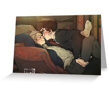 BBC Sherlock: I don't mind Greeting Card