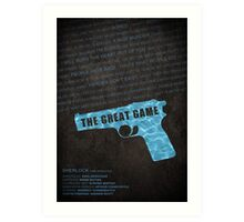 The Great Game fan poster Art Print