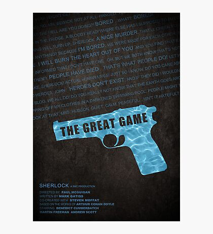 The Great Game fan poster Photographic Print