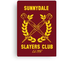 Sunnydale Slayers Club Canvas Print
