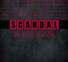 A Scandal in Belgravia fan poster by koroa