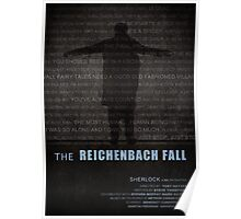 The Reichenbach Fall fan poster Poster
