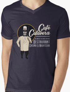 Cafe Calavera Mens V-Neck T-Shirt